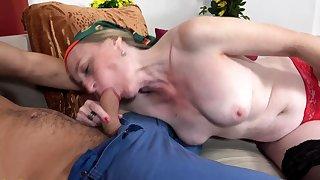 Prolapse mom anal sex beside step grandson
