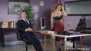 Estimated sex with the thick ass office MILF during a business meeting s