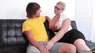 Nude mature mom  strips nude be advisable for her son's sexual desires