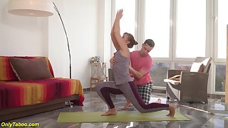 Mom gets rough fucked overwrought yoga instructor
