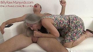 Granny Catches Grandson Adhering Porn-Leilani Lei
