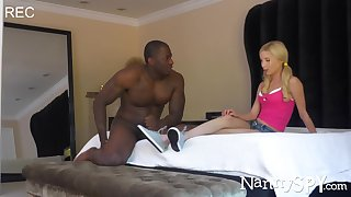 Petite nanny Piper Perri gets fucked by her well endowed spoken for boss