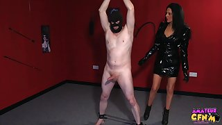 Naked guy in the air a mask gets dick sucked by naughty Jess Scotland