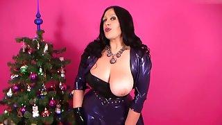 Blowjob unter dem Weihnachtsbaum