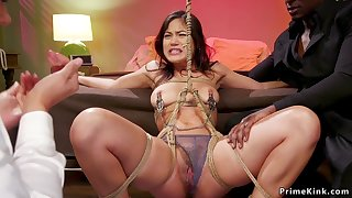 Black arms dealer banging Mature and young babe