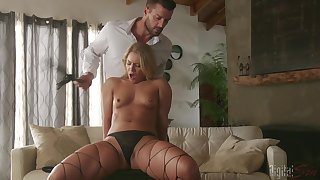Naked Candice Try one's luck feels amazing when bonking so hard