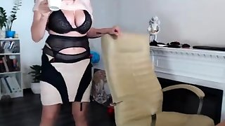 Take charge BBW banged on touching lingerie