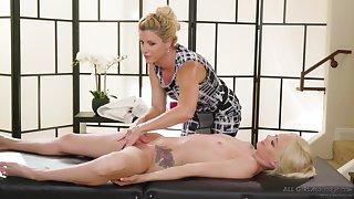 India Summer & Elsa Jean The Protege lesbians massage